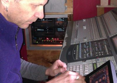 Mickey Levis mixing Soundtracks for Carparks